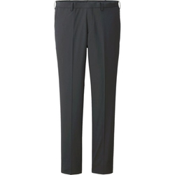 Uniqlo - Stretch Wool Blended Slim Fit Flat Front Pants