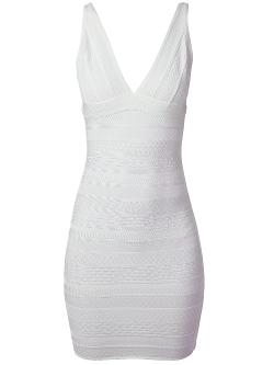 HERVÉ LÉGER  - sleeveless bandage dress