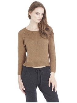 Suss - Dana Crop Pullover Sweater