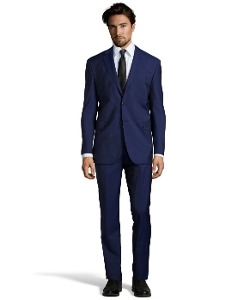 Yves Saint Laurent  - Pinstripe Wool Two Button Suit