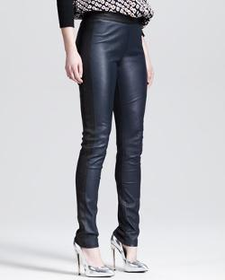 10 Crosby Derek Lam  - Two-Tone Stretch Leather Leggings