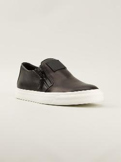 Giuseppe Zanotti Design  - Laceless Lo-Top Sneakers