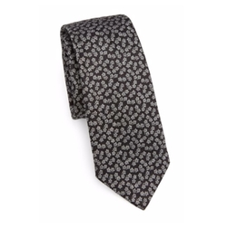 Burberry  - Printed Silk Blend Tie