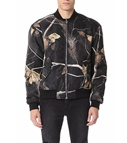 Alexander Wang  - Winter Camo Nylon Bomber Jacket