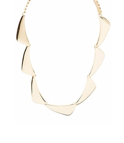 Charlotte Russe - Triangles Bib Necklace