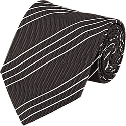 Cifonelli - Diagonal-Striped Necktie