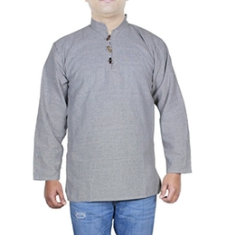 RoyaltyLane - Cotton Short Kurta Shirt