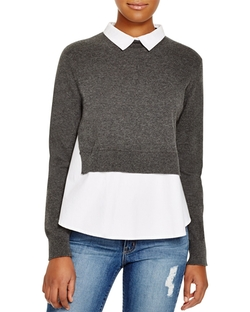 French Connection - Knits Layered Look Sweater