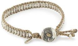 M.Cohen Handmade Designs  - Tan Wax Cord Bracelet