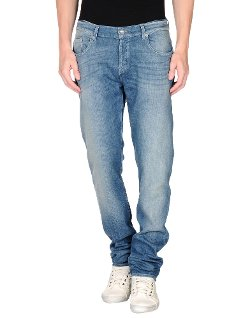 7 For All Mankind  - Straight Leg Denim Pants