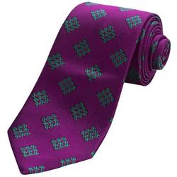 Altea  - Silk Ticino Houndstooth Tie