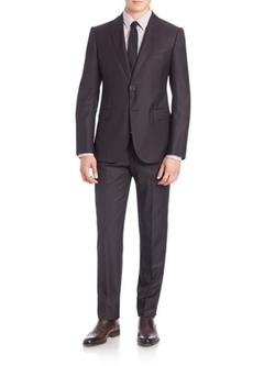 Armani Collezioni - Peak Lapel Wool Suit