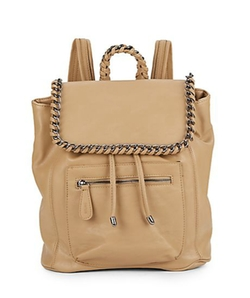 Kensie  - Chain-Trimmed Faux Leather Backpack