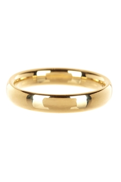 Nordstrom Rack - Gold Comfort Fit Wedding Band
