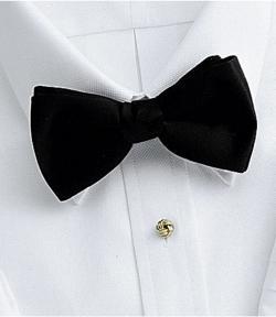 Jos. A. Bank - Pre-tied Black Bow Tie