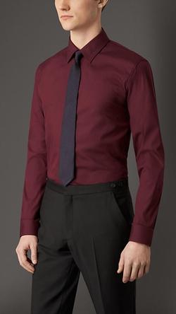Burberry - Stretch Cotton Blend Shirt
