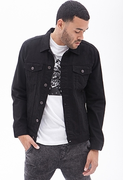 Forever2 - Clean Wash Denim Jacket