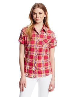 Dickies  - Roll-Up Sleeve Plaid Shirt