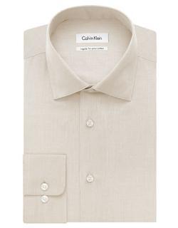 Calvin Klein  - Regular Fit Pima Dress Shirt