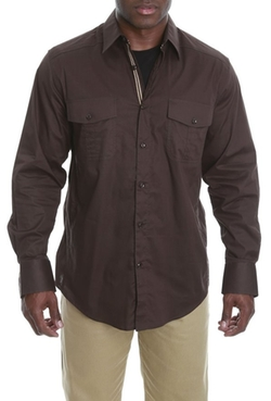 Veno - Solid Long Sleeve Shirt