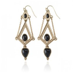Samantha Wills - Midnight Lovers Drop Earrings