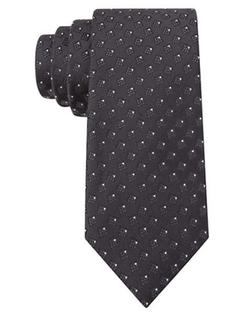 William Rast  - Silk Box Print Tie