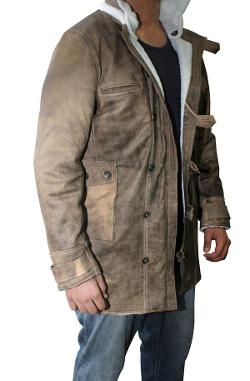 Hexder - The Dark Knight Rises Bane Real Leather Coat