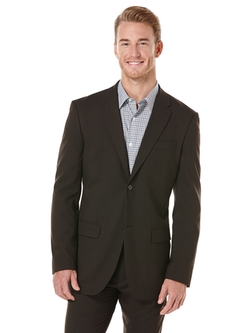 Perry Ellis International - Modern Fit Solid Stretch Suit Jacket