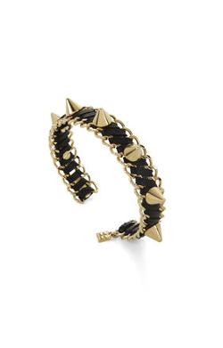 Bcbg Max Azria  - Studded Faux-leather Cuff