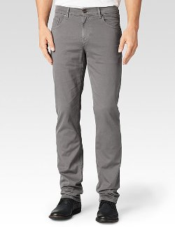 Paige - Normandie - Carbon Ash Pants