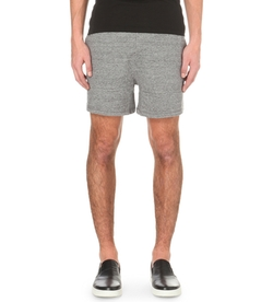 DSquared  - Marl Cotton Jersey Jogging Shorts