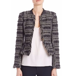 Derek Lam 10 Crosby - Shrunken Knit Jacket
