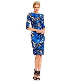 ECI - Floral-Print Midi Dress