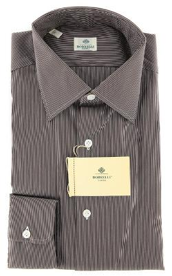 Luigi Borrelli  - Brown Dress Shirt