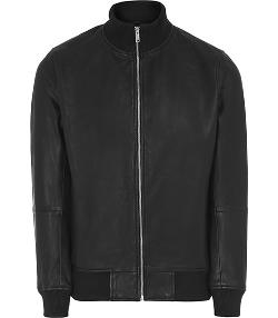 Knowles - Leather Bomber Jacket