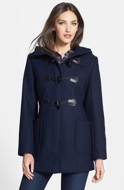 Pendleton  - Hooded Wool Blend Duffle Coat