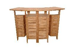 Anderson Teak - Altavista Folding Bar Table