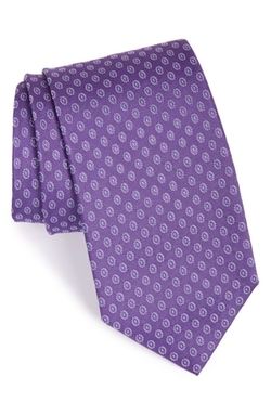 BOSS  - Geometric Silk Tie
