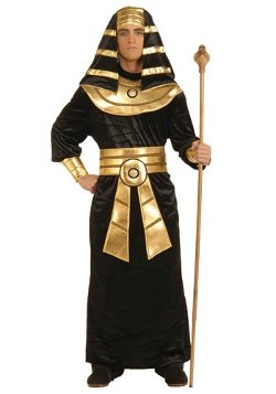 HalloweenCostumes - Adult Black Pharaoh Costume