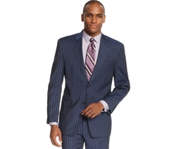 Sean John  - Blue Striped Jacket