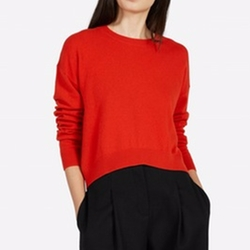 Everlane - The Cashmere Cropped Crew Sweater