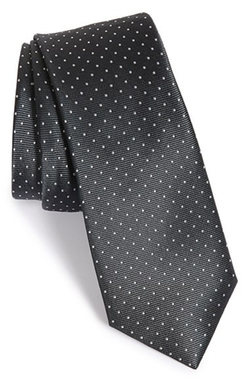The Tie Bar - Dot Silk Tie