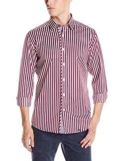 Stone Rose - Bold Stripe Shirt