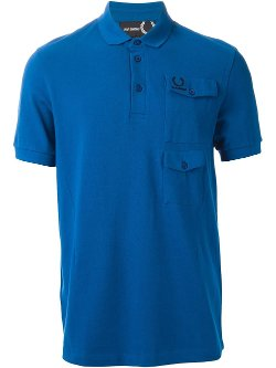 Fred Perry By Raf Simons  - Double Pocket Polo Shirt