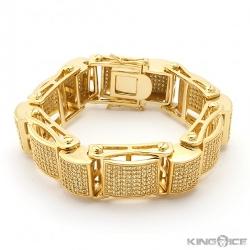 King Ice - Dome Link Bracelet