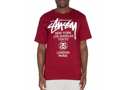 Stussy - World Tour Tee
