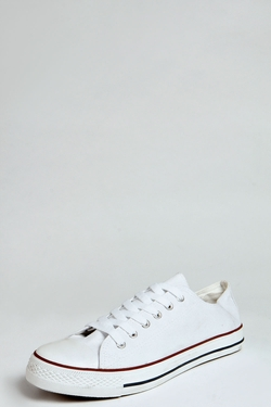 Boohoo - Canvas Plimsolls Sneakers