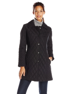 Anne Klein  - Diamond Quilt Jacket