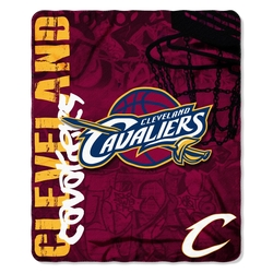 Unique Imports - Official NBA Cleveland Cavaliers Fleece Throw Blanket