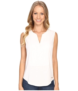 Calvin Klein  - Pleat Front Sleeveless Top